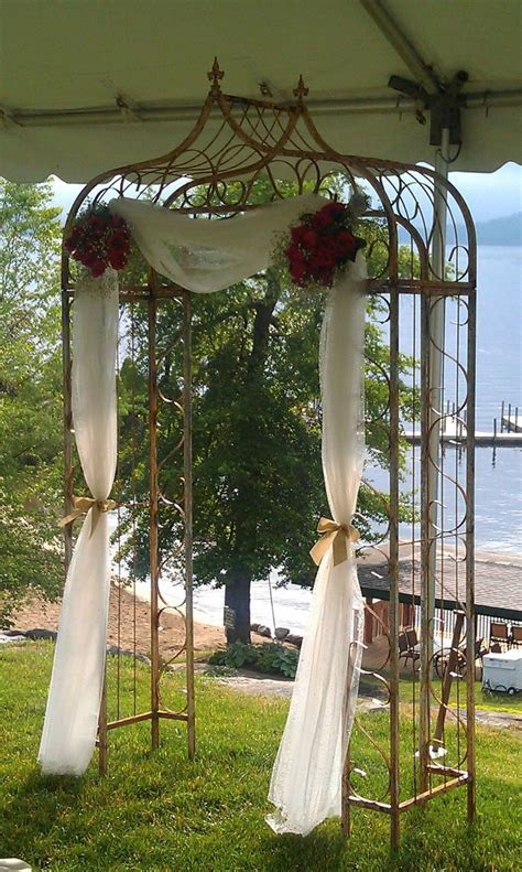 1000  ideas about Metal Wedding Arch on Pinterest   Cheap