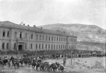 Allied entry in Damascus