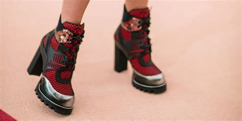 Stompy Boots Are The Unexpected Dress Up Shoe Of The Season