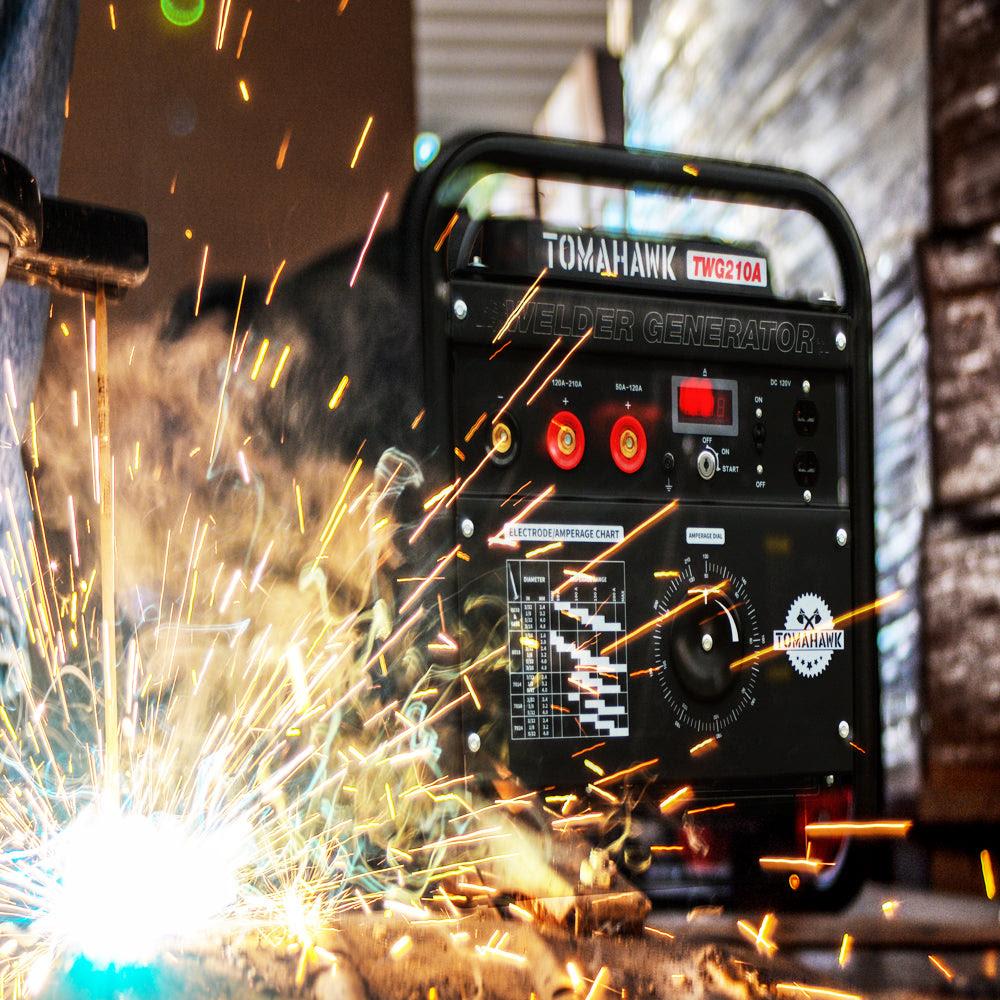 Factory Reconditioned 15 Hp Gas Powered Portable 2 000 Watt Generator Tomahawk Power