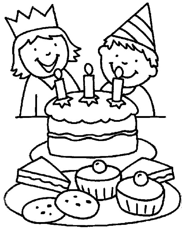 Happy Birthday Boy Coloring Pages: Happy Birthday Boy ...