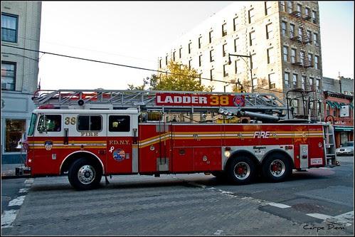 Ladder Company 38, Bronx, New York (Joe Spor) by Tony Fischer Photography