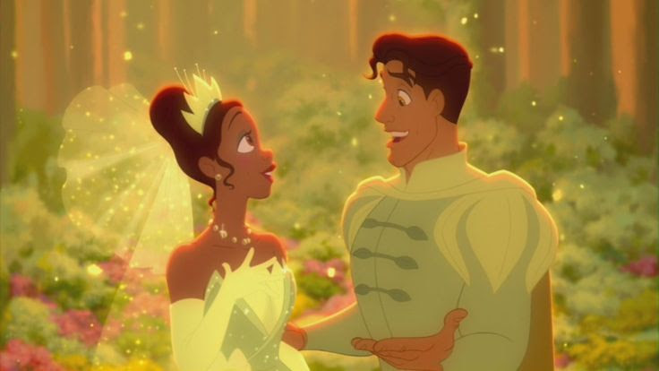 "Princess Tiana and Prince Naveen | Disney Couples Tiana  Prince Naveen in ""The Princess and the Frog"""