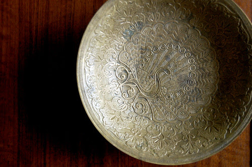 brass bowl