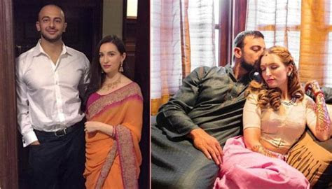Arunoday Singh And Long time Girlfriend Lee Elton Look