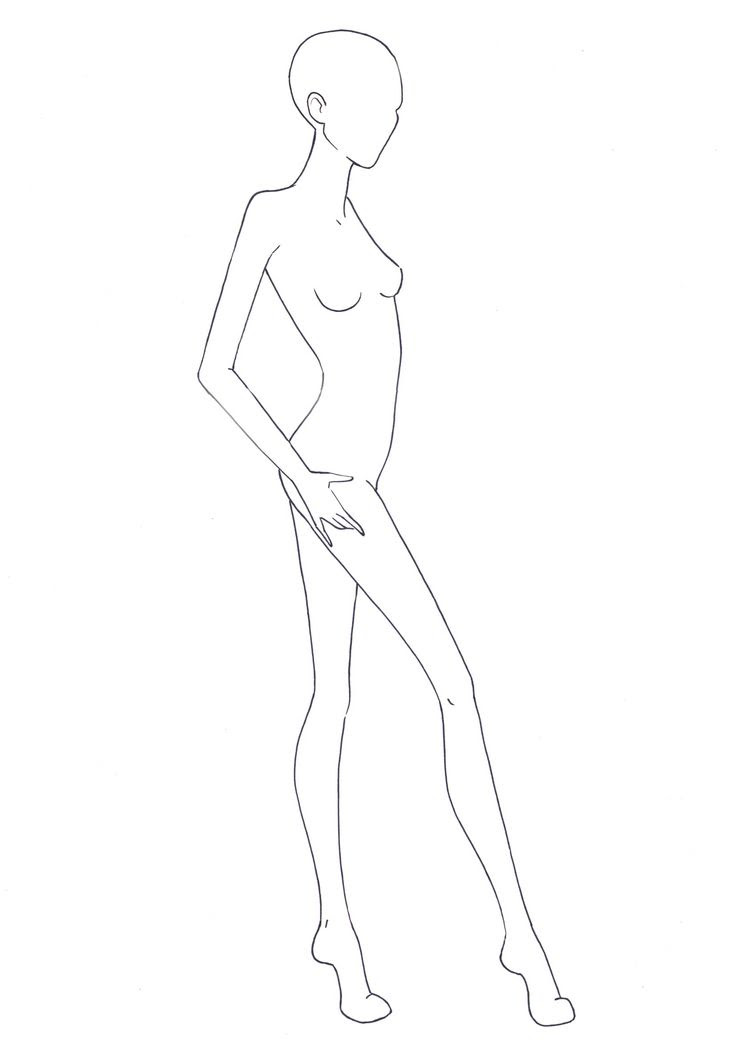 Fashion Figure Drawing At Getdrawingscom Free For Personal Use