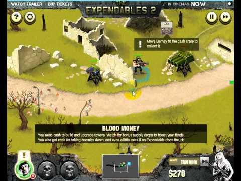 วีดีโอการเล่นเกมส์ The Expendables 2: Deploy & Destroy โครตคนทีมมหากาฬ