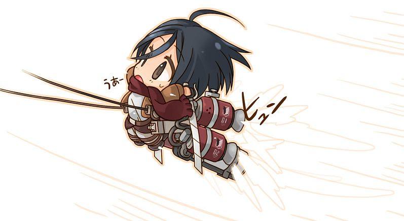 Mikasa Ackerman 36 Background Wallpaper Animewp Com