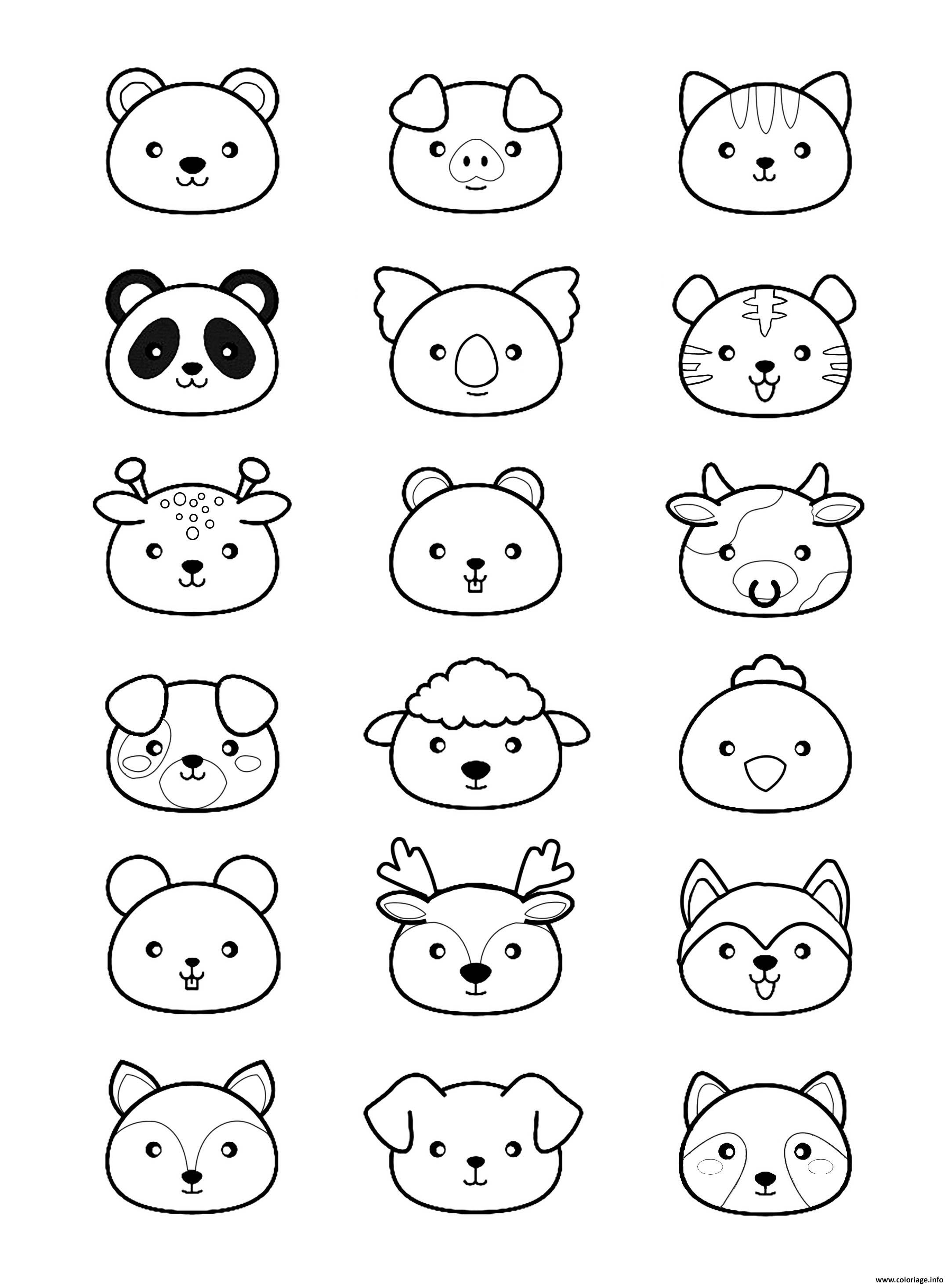 Coloriage Magique Addition Coloriage Animaux Kawaii