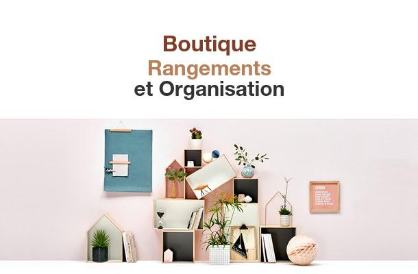 Boutique Rangements et Organisation, découvrez notre sélection