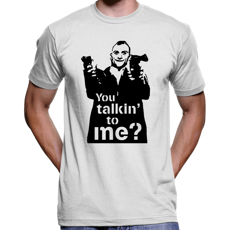 Taxi Driver You Talkin To Me T Shirt Hoodie Culture Clash