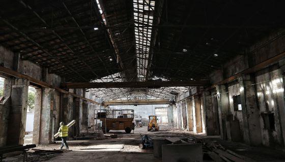 Un nuevo centro de arte emerge de la ruina industrial de Valencia