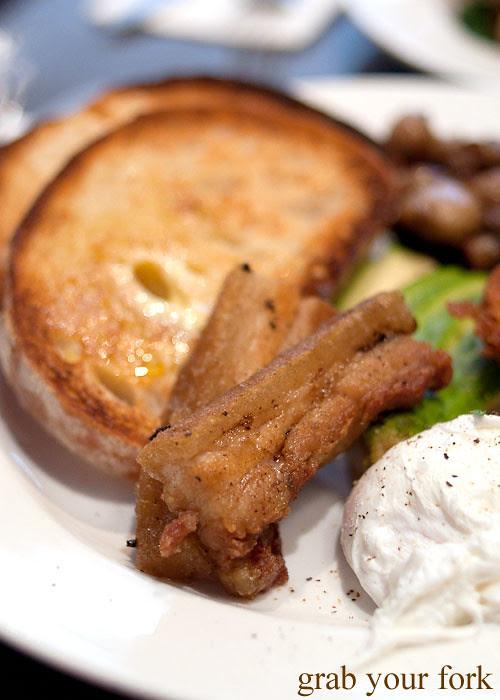 Crisp pork  belly at Beejay's Marrickville
