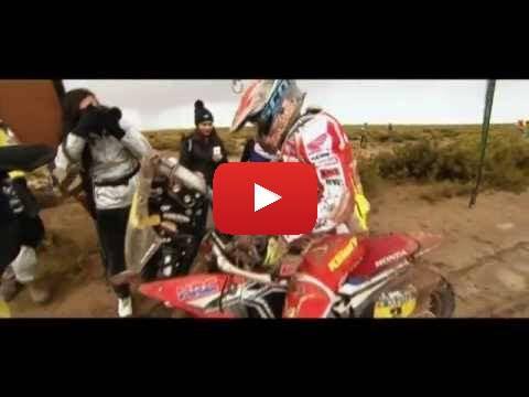 Team HRC Dakar Rally 2015 - Stage 7