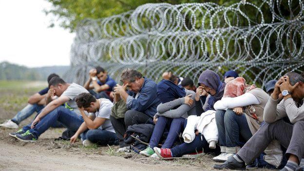 Arrestos de migrantes