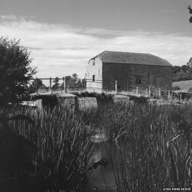 An image which could be of Cutts Mill near Blandford, Dorset