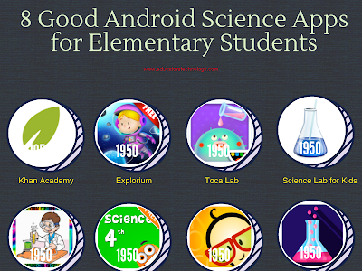8 Good Android Science Apps for Elementary Students