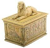 Sphinx Trinket Box Collectible Figurine