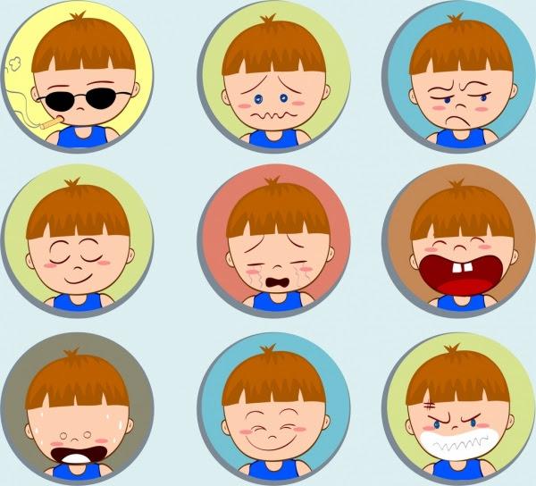 Gambar Kartun Wajah Anak Laki Laki - Gambar Kartun