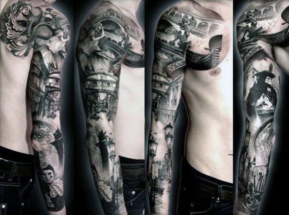 Tatuagem Idéias Para Homens Meia Luva