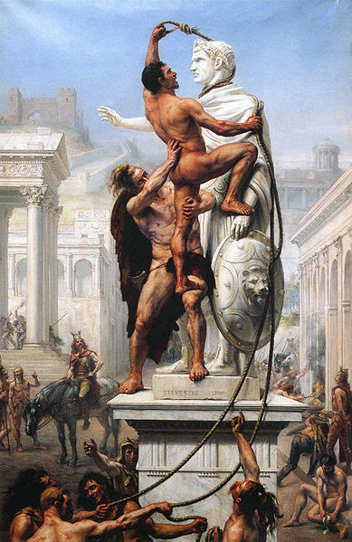 File:Visigoths sack Rome.jpg