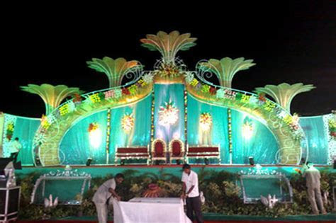 Iron Stage   Lotus Designer Stage Manufacturer from Jaipur