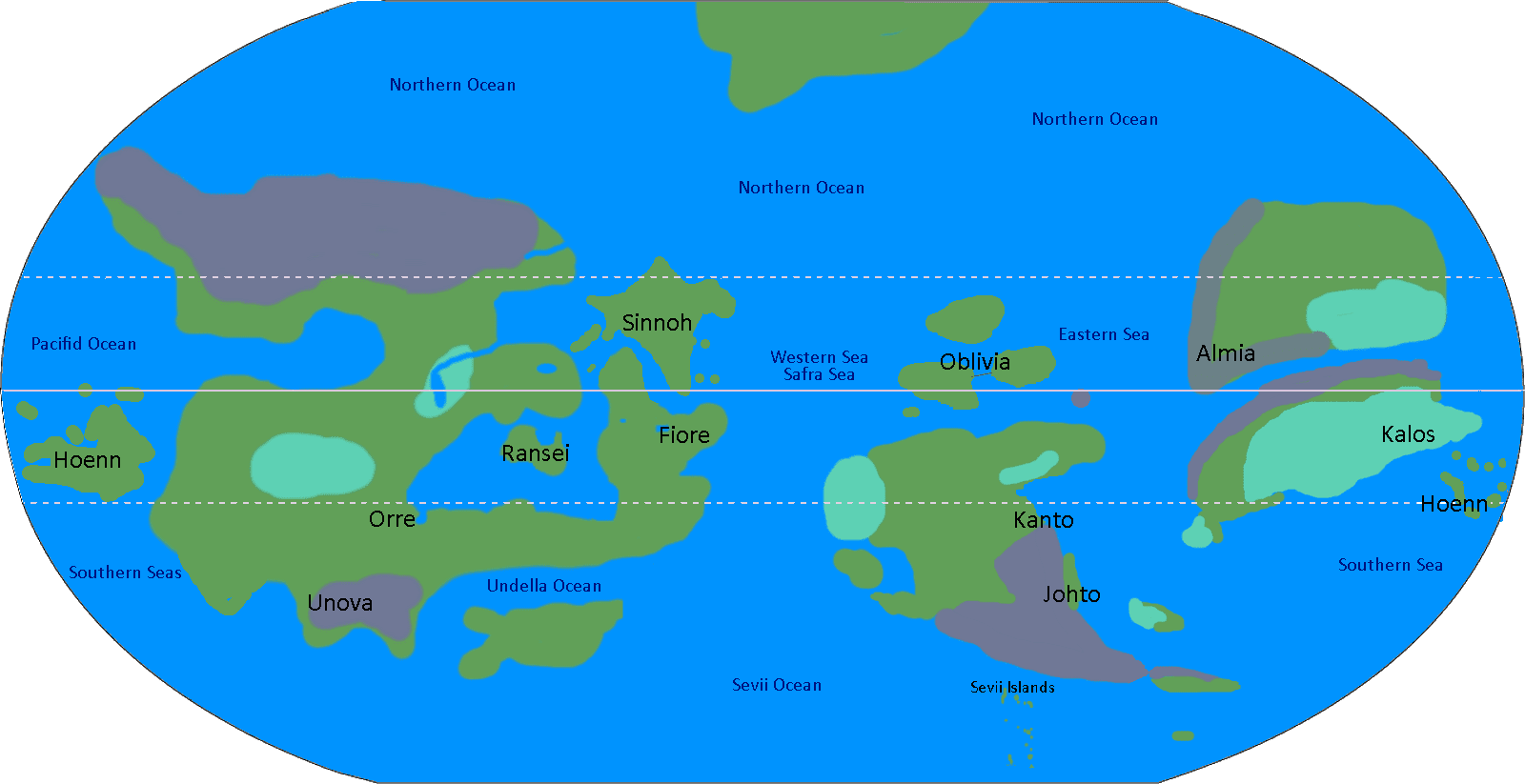 My pokemon world map v60 by jamisonhartley on deviantart all pokemon regions world map images pokemon images gumiabroncs