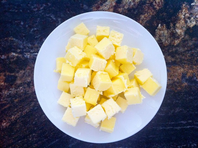 Butter Cut into 1/2 inch cubes