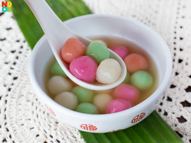 Homemade Tang Yuan Recipe | NoobCook.com