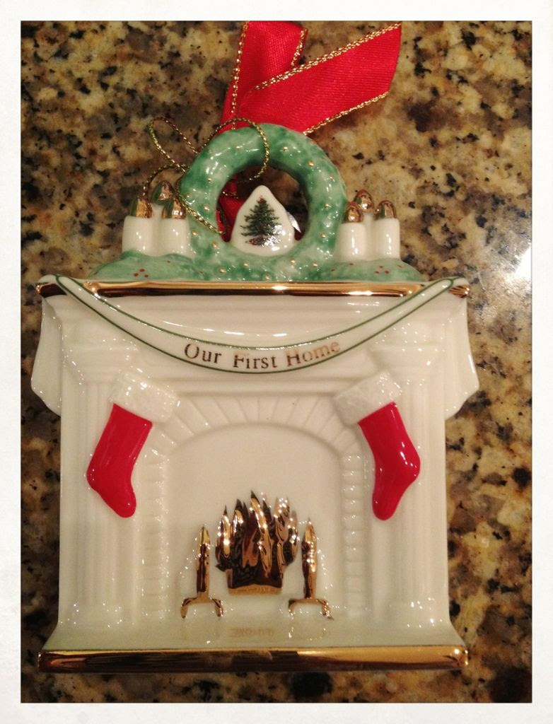 12/1/11, A special gift from my sister-in-law for my Christmas ornament collection.
