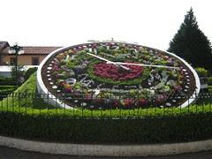 El reloj en el parque de zacatlan
