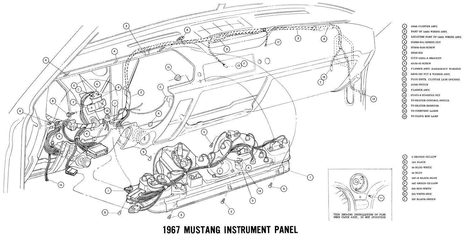 1967 Mustang Electrical Wiring Diagram Wiring Diagram Correction Correction Cfcarsnoleggio It