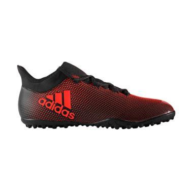 adidas Originals Adidas X Tango 17.3 TF Art Sepatu Futsal Pria - Black Red   CG3728  8baf1bed36