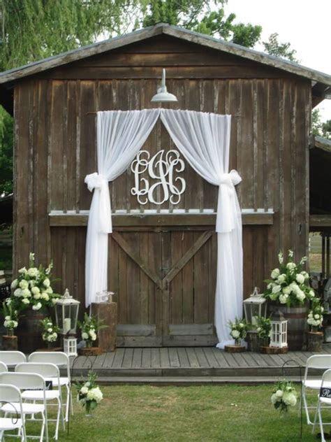 Best 25  Outdoor wedding doors ideas on Pinterest