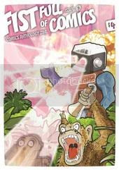 Fist Full of Comics 5 cover by Tim Pearson