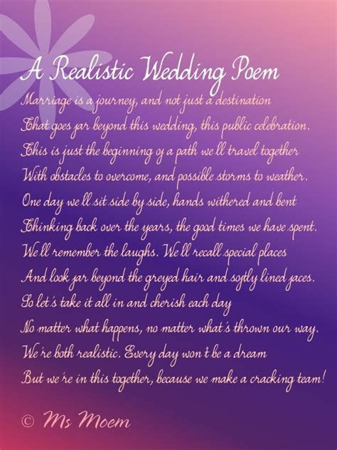 7 realistic wedding vows for the modern bride and groom