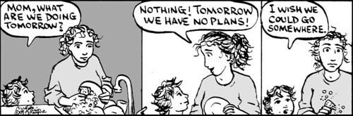 Home Spun comic strip #419