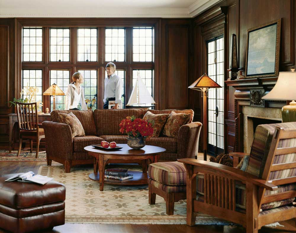 33 Traditional Living Room Design - The WoW Style