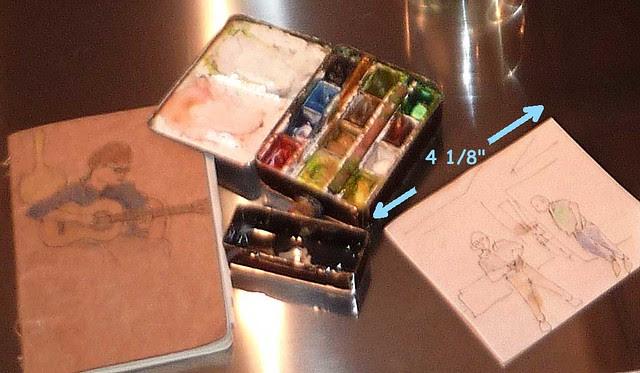 P1040880-2010-10-27-Switch-Modern-talk-John-Howard--Jon-Ciliberto-paints-watercolor-Kit