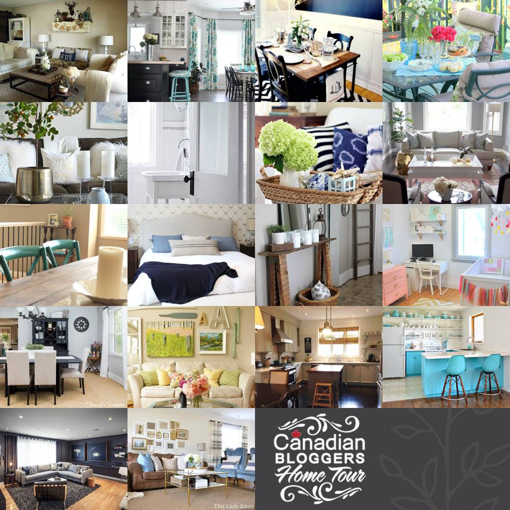 Canadian Bloggers Home Tour