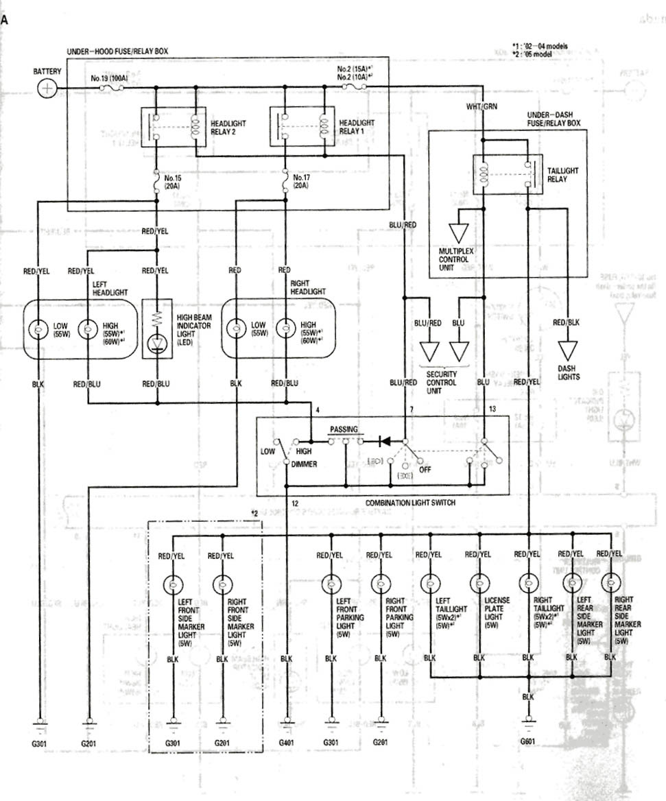 integra wiring diagram blower