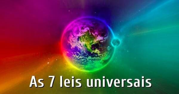As sete leis universais