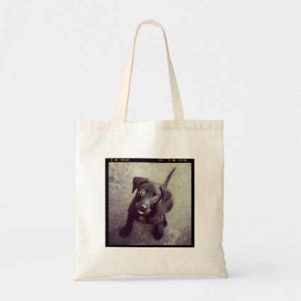 Custom Personalized Instagram Photo Gift Canvas Bags