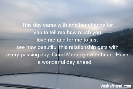 Good Morning Message For Boyfriend This Day Came With Another Chance