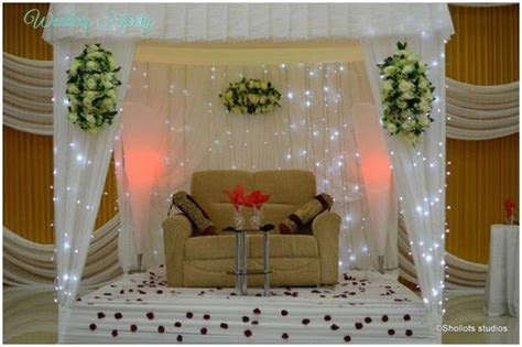 Nigerian Wedding Decor   Traditional and White Wedding