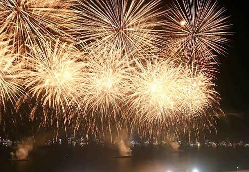 Fogos de artificio são totalmente livres de ruídos?