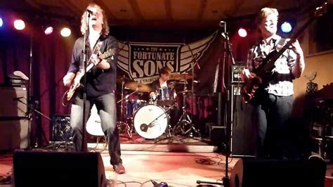 The Fortunate Sons   CCR Tribute band Cafe zalen Donkenhof