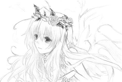 angel drawing  kimmiku  deviantart