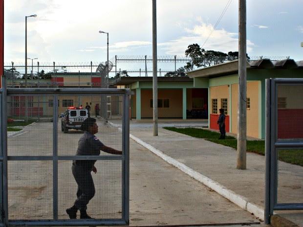 Fachada do Instituto Penal Antônio Trindade (IPAT) (Foto: Divulgação)