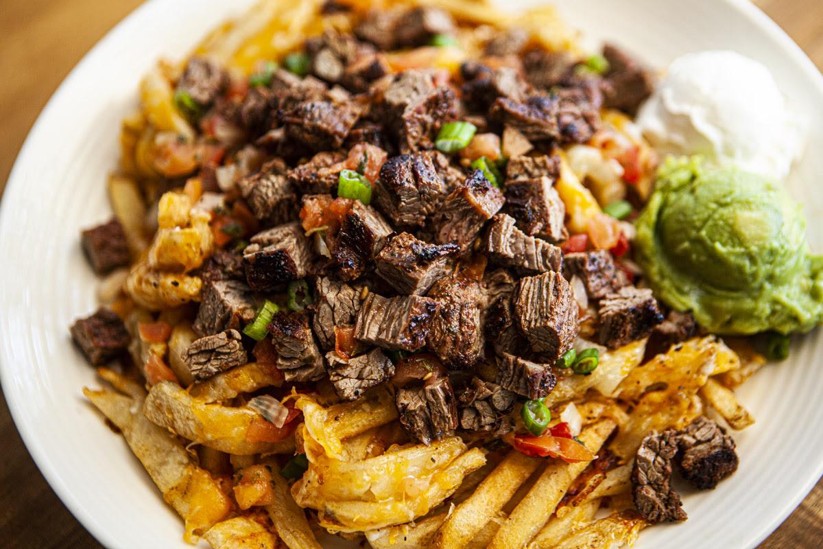 Trader Joe's Carne Asada Fries Recipe Hack - FOOD is Four ...